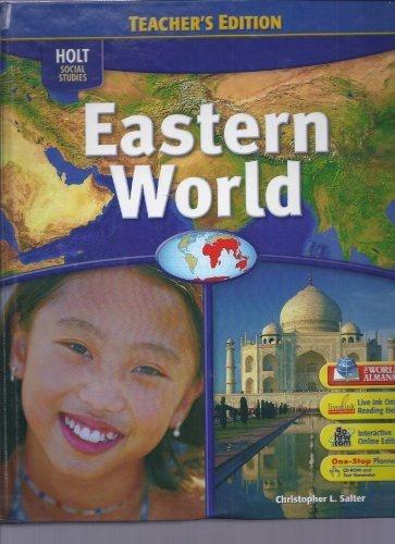 9780030436031: Holt Social Studies: Eastern World, Teacher's Edition