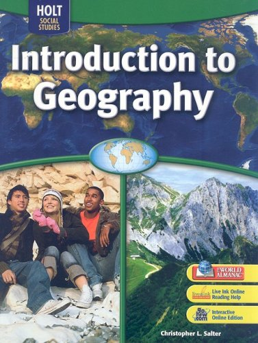 Introduction to Geography: Christopher L. Salter