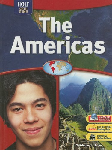 9780030436086: World Regions: Student Edition The Americas 2007