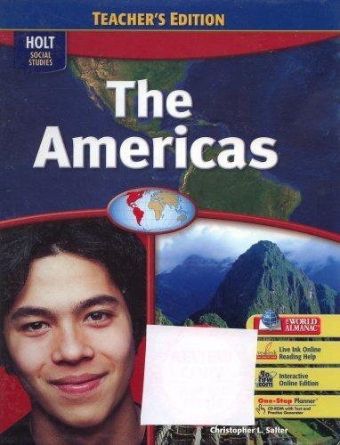 9780030436093: World Regions: Teacher Edition The Americas 2007