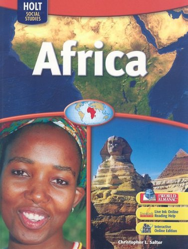 9780030436185: World Regions: Student Edition Africa 2007