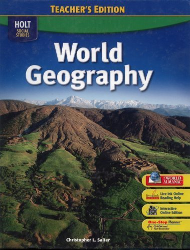 9780030436246: World Geography Teacher's Edition (HOLT SOCIAL STUDIES)