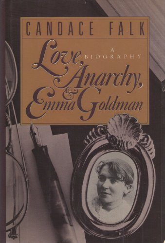 9780030436260: Love, anarchy, and Emma Goldman