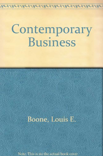 9780030436468: Contemporary Business