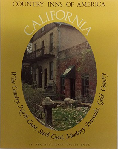 9780030437267: California, a guide to the inns of California (Country inns of America)