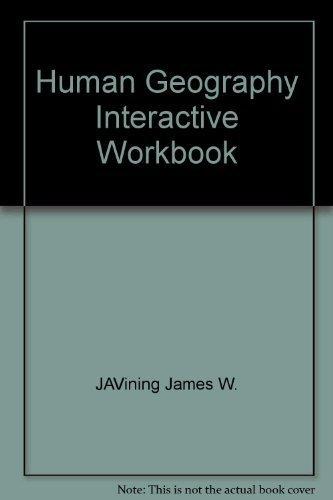 9780030437823: Human Geography Interactive Workbook