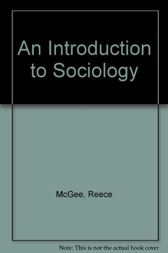 9780030439001: An Introduction to Sociology