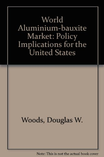 9780030443565: World Aluminium-bauxite Market: Policy Implications for the United States