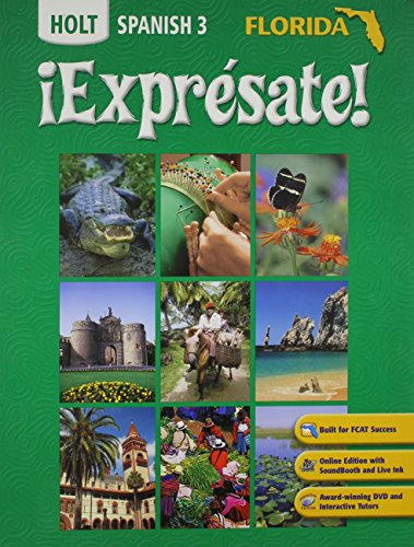 9780030451232: ?Expr?sate! Florida: Student Edition Level 3 2007