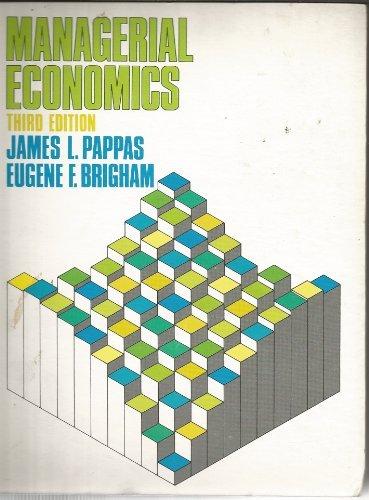 9780030451263: Managerial Economics