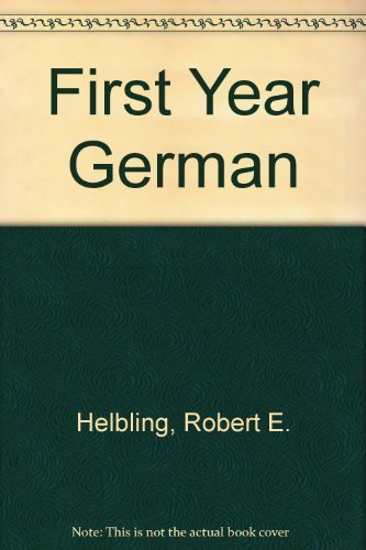 9780030451713: First-Year German