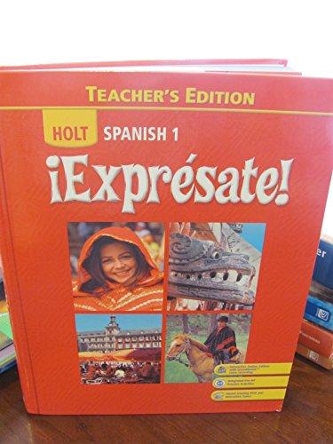 9780030452123 Expresate Spanish 1 Teacher S Edition