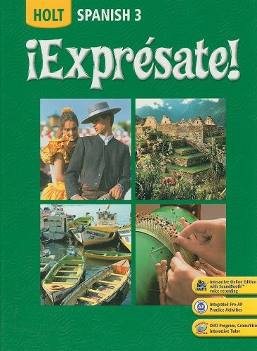 9780030453724: ?Expr?sate!: Student Edition Level 3 2008