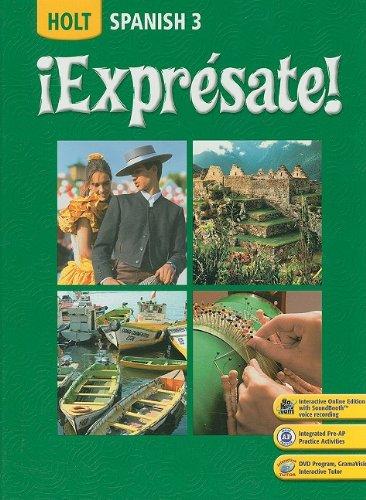Expresate!: Spanish 3 (Spanish Edition): Nancy A. Humbach,