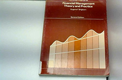 9780030454066: Instructor's Manual for Financial Management