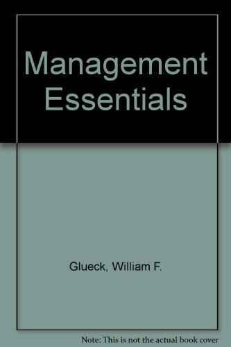 9780030454165: Management Essentials
