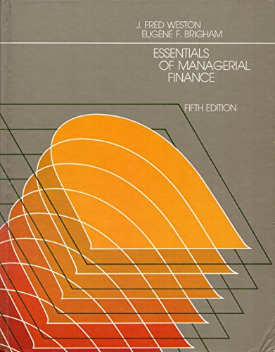 9780030454462: Essentials of Managerial Finance