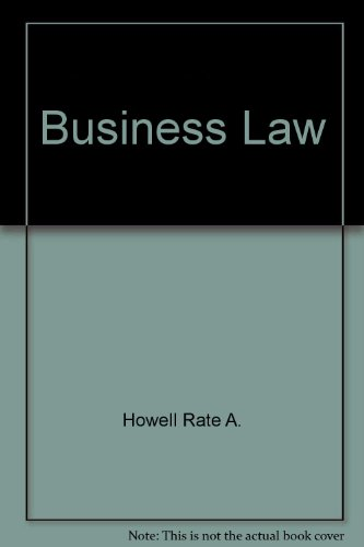 9780030454813: Business law