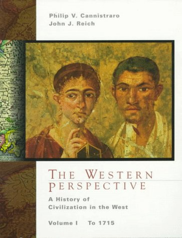 9780030456442: The Western Perspective: A History of European Civilization, Volume I: to 1715
