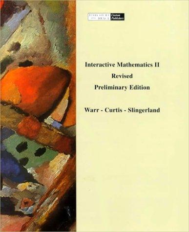 9780030457128: Interactive Mathematics 2