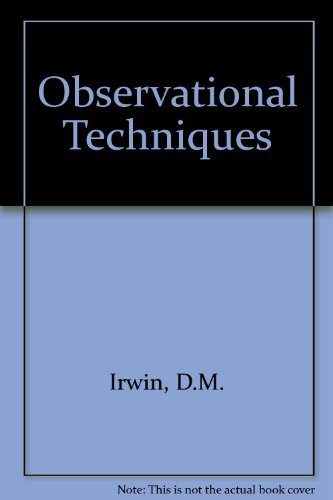 9780030457265: Observational Strategies for Child Study