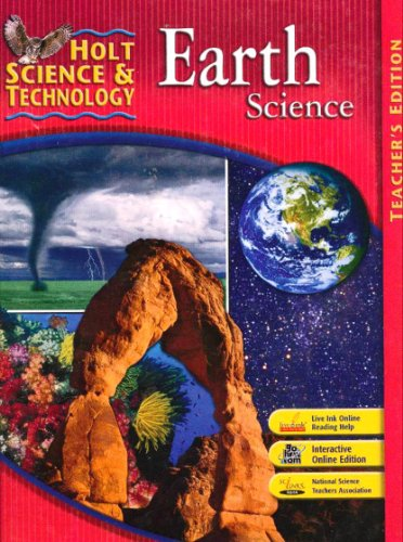 9780030457579: Holt Science & Technology: Earth Science, Teacher's Edition
