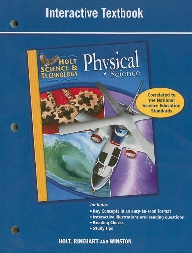 9780030462085: Holt Science & Technology: Special Needs Workbook Physical Science