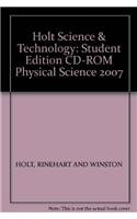 9780030462238: Holt Science & Technology: Student Edition CD-ROM Physical Science 2007