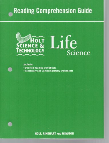 9780030462375: Life Science: Reading Comprehension Guide (Holt Science & Technology)