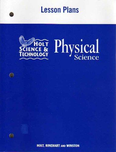 9780030464126: Lesson Plans HS&T 2007 Phys