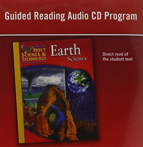 9780030464171: Holt Science & Technology: Guided Reading Audio CD Program Earth Science