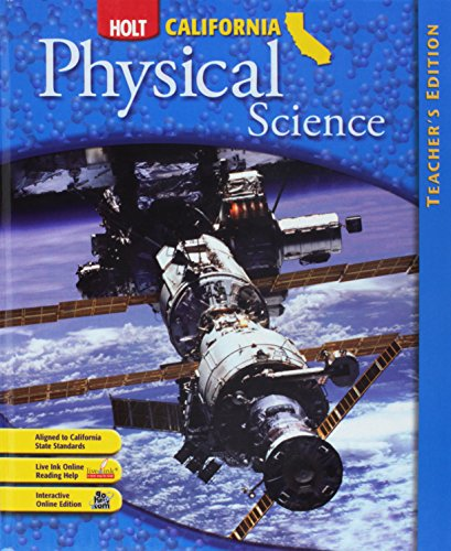 9780030464638: Holt Science & Technology California: Teacher Edition Grade 8 Physical Science 2007