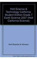 9780030464775: Holt Science & Technology California: Spanish Student Edition Grade 6 Earth Science 2007
