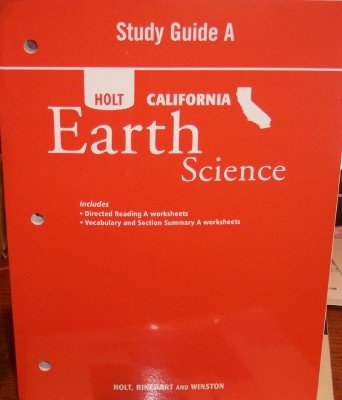 9780030465321: Study Guide A, California Earth Science