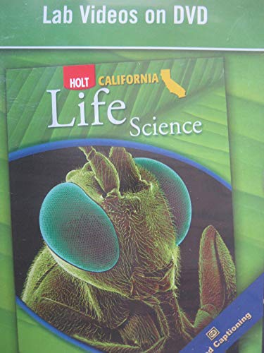 9780030465734: Holt Science & Technology California: Lab Video DVD Grade 6 Life Science