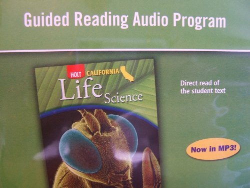 Guided Rdg Audio Prg CA Sci 2007 Life: Winston, Holt Rinehart &