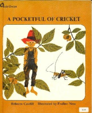 9780030468308: A Pocketful Of Cricket