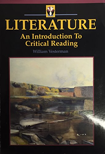 9780030469145: Literature: An Introduction to Critical Reading