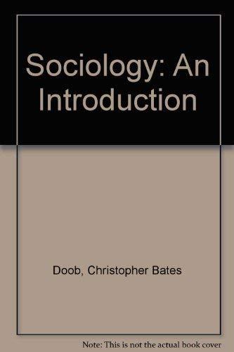 9780030470042: Sociology: An Introduction