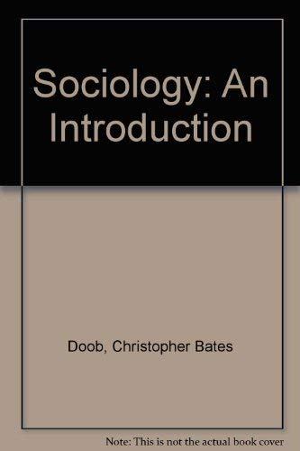 9780030470042: Sociology: An Introduction