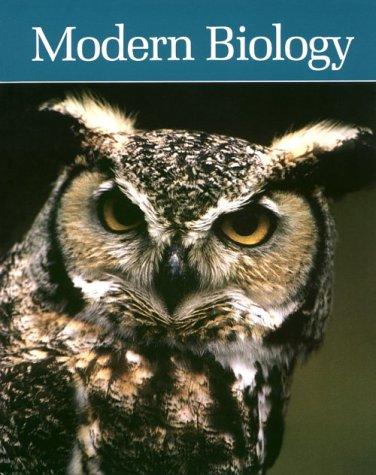 9780030470295: Modern Biology