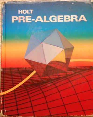 9780030470684: Holt Pre-Algebra