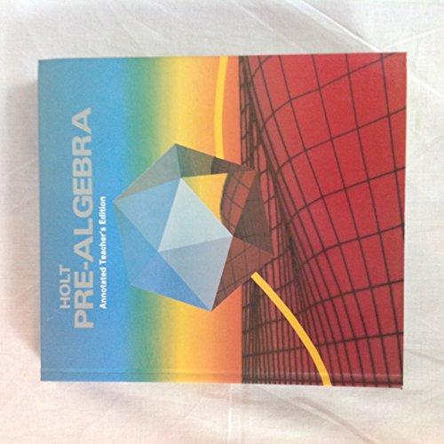 9780030470691: Holt Pre Algebra Teacher Edition
