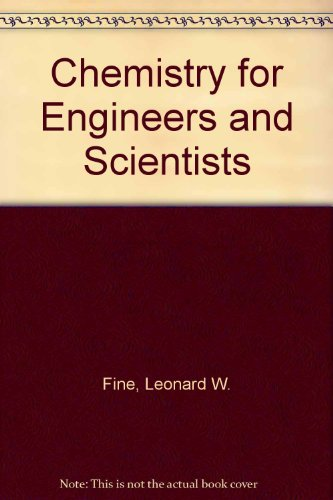 9780030471025: Chemistry for Engineers and Scientists