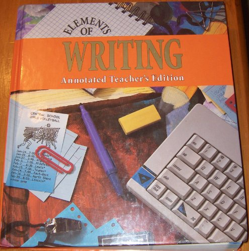9780030471544: Elements of Writing HRW ATE Second Course