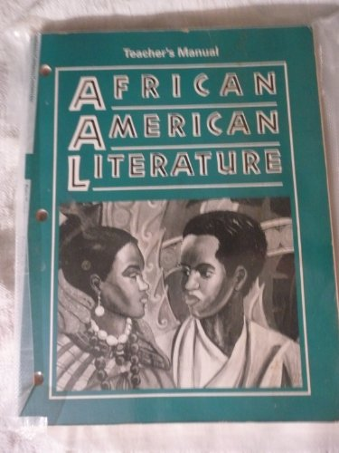 teacher's Manual African American Literature (Voices in a Tradition): Ken Holms