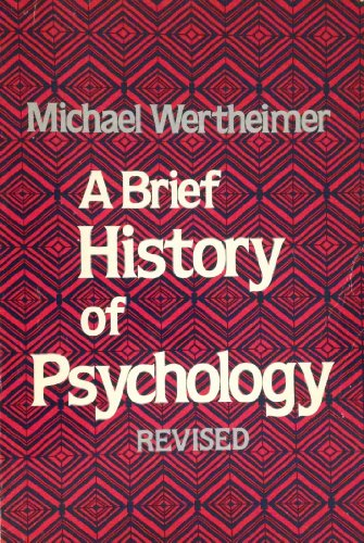 9780030474262: Brief History of Psychology
