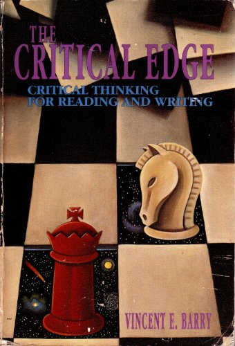 9780030475221: Critical Edge: Critical Thinking for Reading and Writing