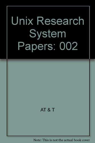 9780030475290: Programmer's Manual (Unix Programmer's Series Volume 2)