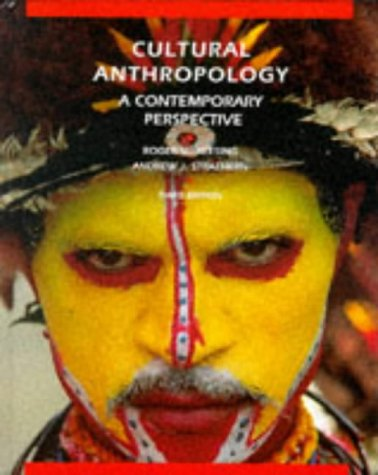 9780030475825: Cultural Anthropology: A Contemporary Perspective